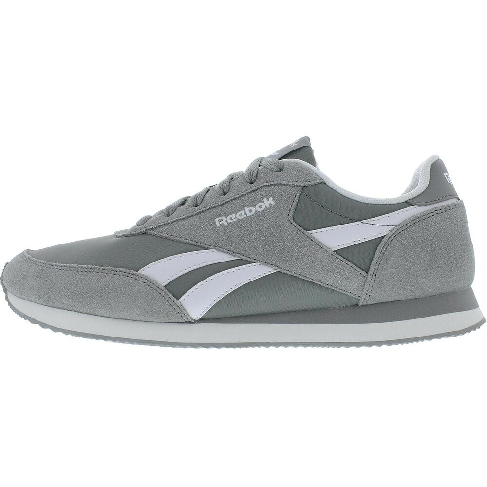 64ce8185d9927 Details about Reebok Men s Classic Royal Jogger 2 Trainers Running Tennis  Shoes V70712 - Grey