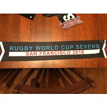 2018 Rugby World Cup Sevens San Francisco Scarf