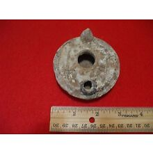 GENUINE ANCIENT JERUSALEM ISRAEL >>> OIL LAMP W/C.O.A.+ BETHLEHEM GIFT!