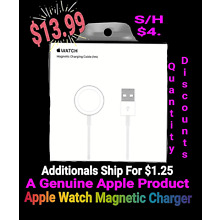 NEW GENUINE APPLE WATCH MAGNETIC CHARGING CABLE FOR 1M 3.3 FT MKLG2AM/A