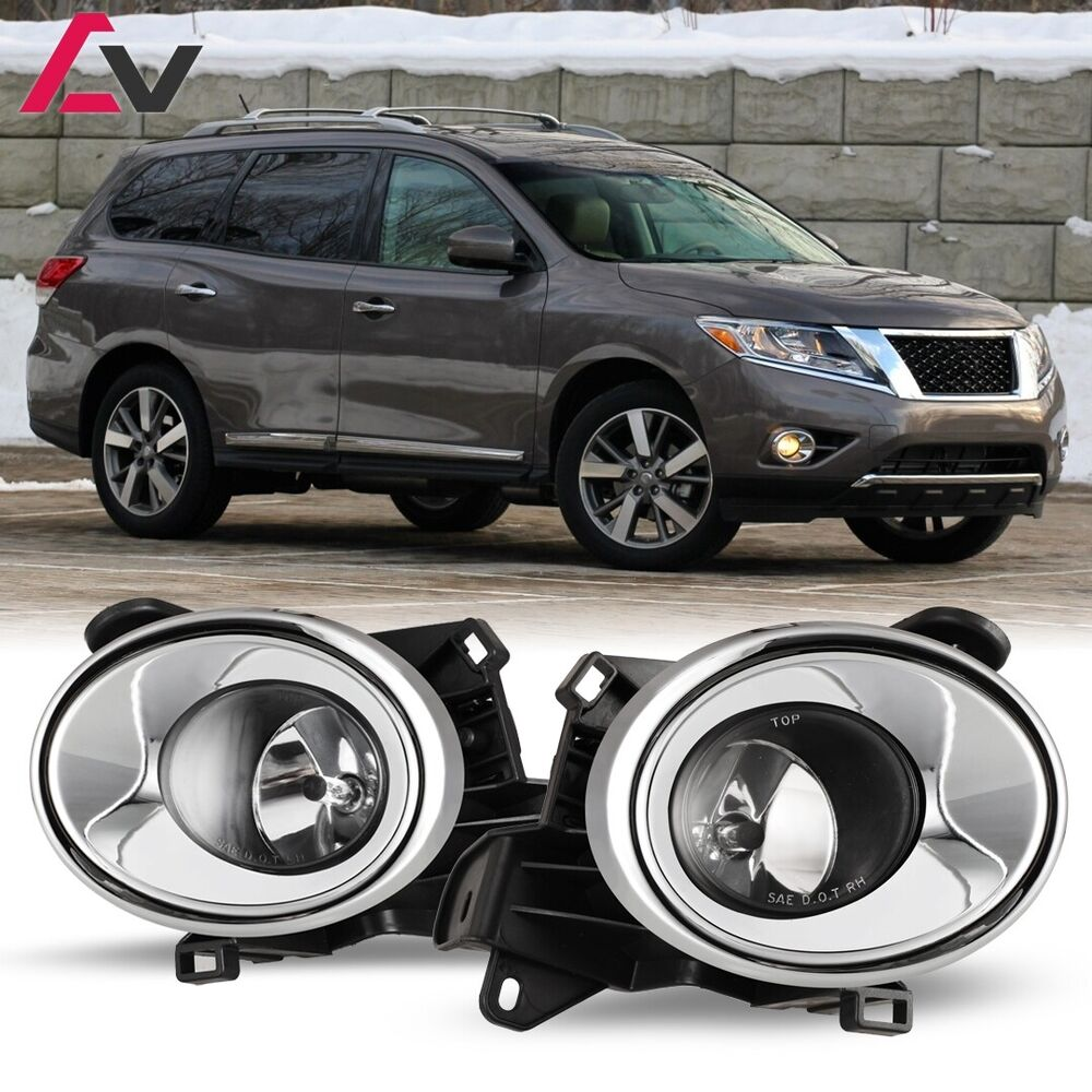 13 16 for nissan pathfinder clear lens pair oe fog light lamp wiring rh ebay com