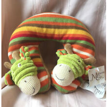 Toddler Colorful Giraffe Neck pillow-NEW with tags Maison Chic