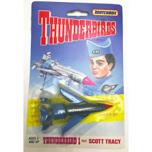 1994 Matchbox Thunderbirds 1 & 3 Sealed SCOTT Alan Tracy Die-cast Gerry Anderson