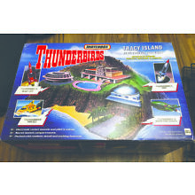 1993 MATCHBOX THUNDERBIRDS TRACY ISLAND ELECTRONIC Playset w/BOX Gerry Anderson