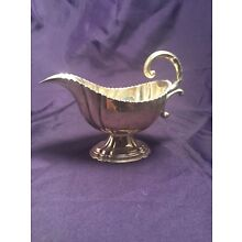 Isadore  Leapman 1903 Antique sterling silver Classical Design Sauce Boat