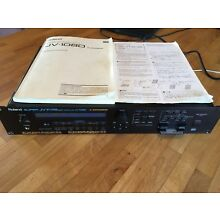 ROLAND SUPER JV 1080 64 VOICE SYNTHESIZER with 512 memory card and more