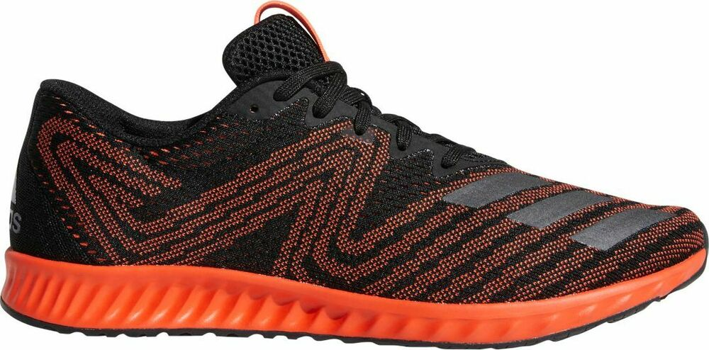 cheap for discount f436d 9d56c Details about Mens Adidas Aerobounce PR Black Sport Running Athletic Shoes  AQ0104 Sizes 10-12
