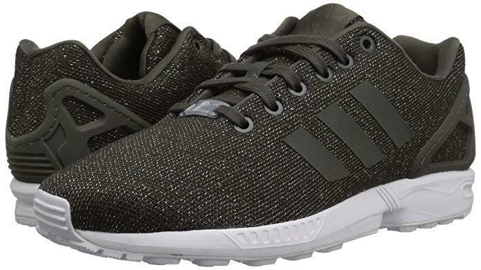 8604aed00 Details about Women adidas Originals ZX Flux W Running Shoe BY9210 Color  Utility Grey New