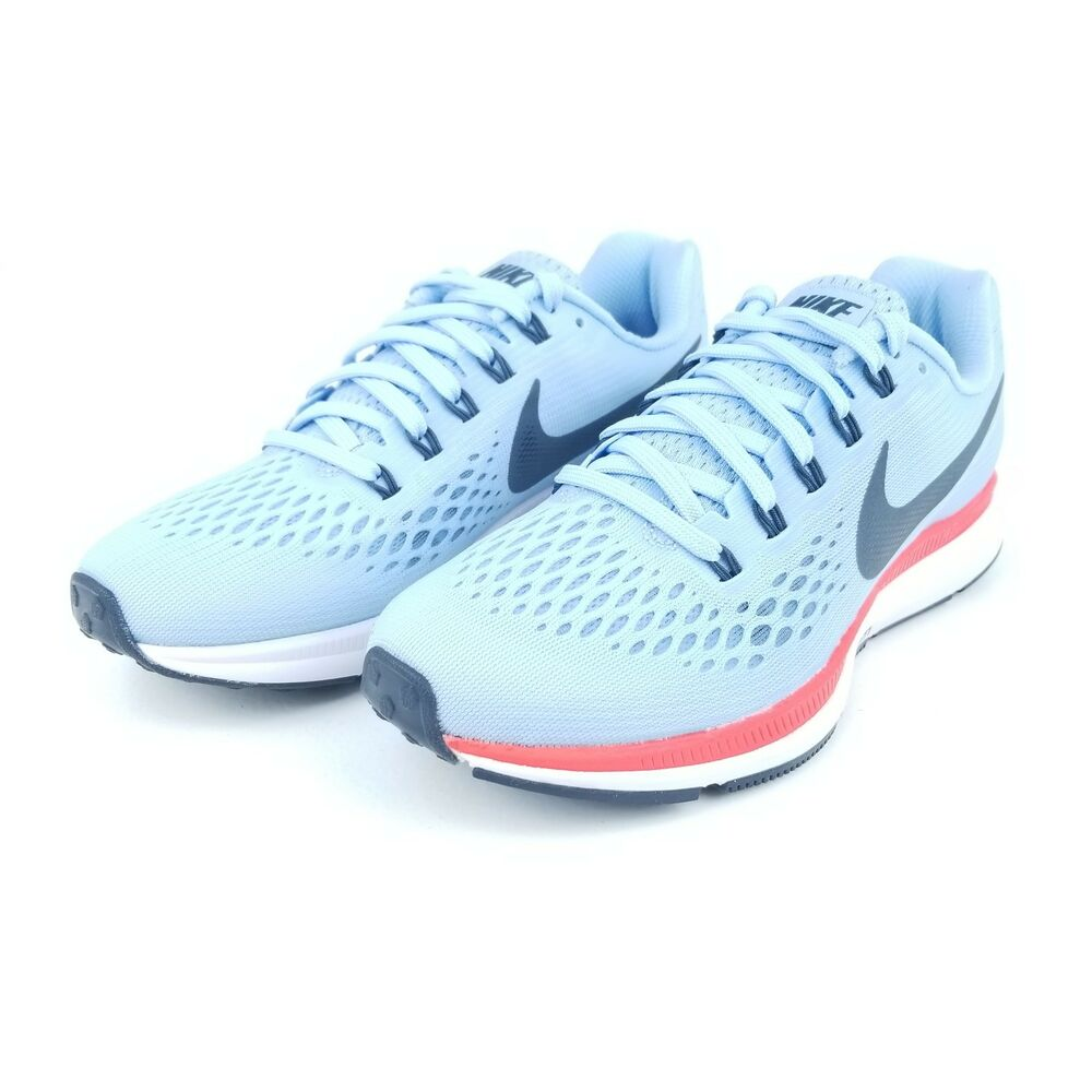 3d35b8cc45f7 Details about NIKE AIR ZOOM PEGASUS 34 Women s Running Shoes 880560 404 Ice  Blue Fox Size