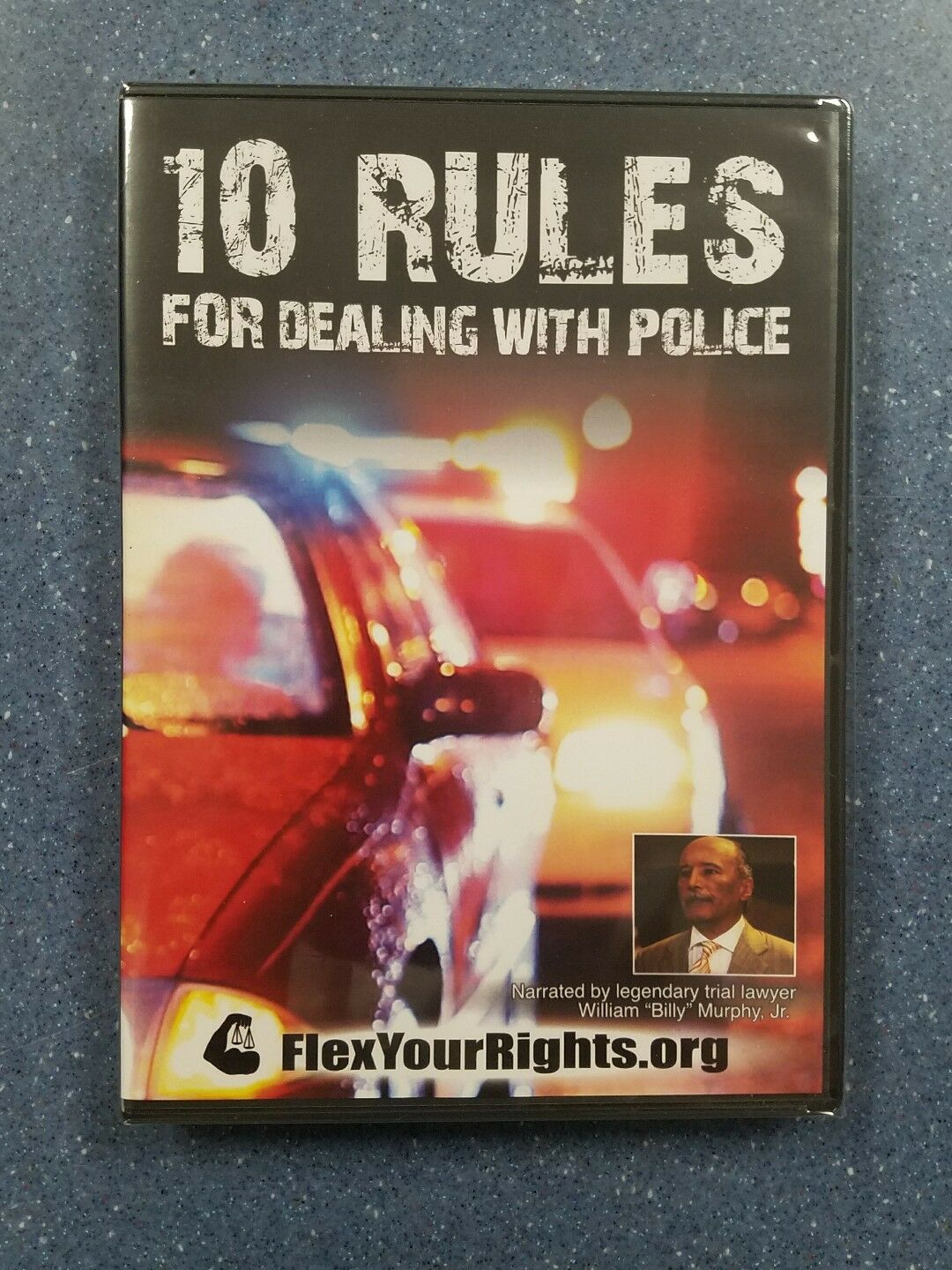 ISBN 9780974951133 product image for 10 Rules For Dealing With Police., Narrated By William