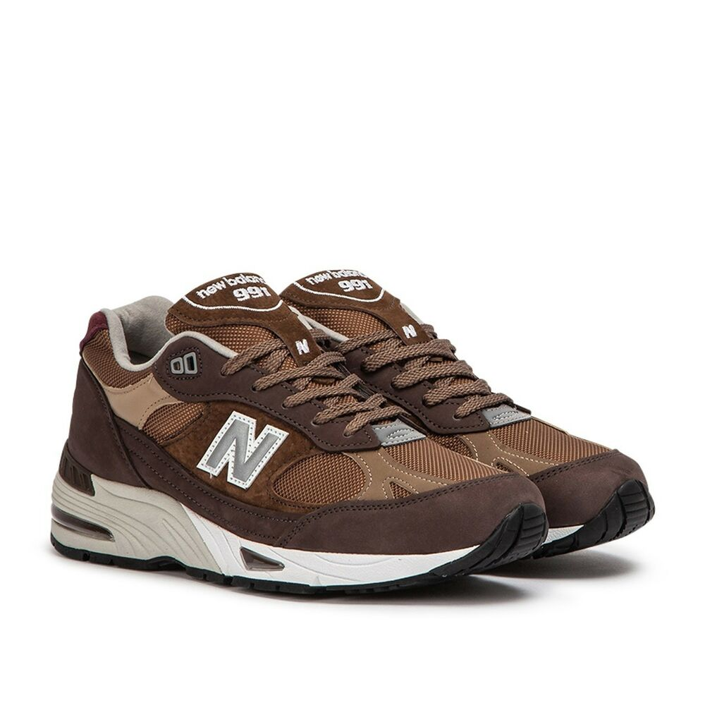 12543e2d97d1e2 Details about New Balance 991 Made In UK ENGLAND   M991NGG Brown Men SZ 8 -  13