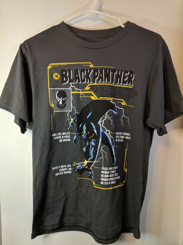 Black Panther T Shirt Mensu0027 Size XL Marvel Classic Mad Engine | EBay