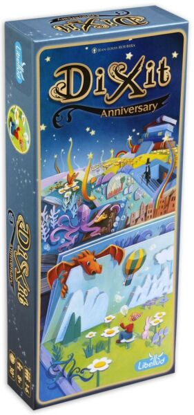 Dixit Expansion Pack 10 Anniversary Card Fun Family Game Original Libellud