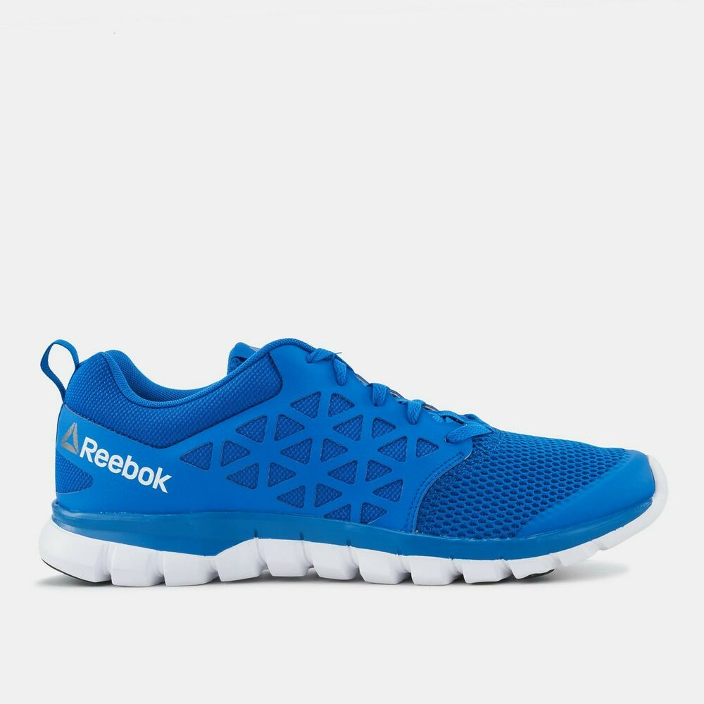 69b40310fb8 Details about Reebok Sublite XT Cushion 2.0 Mens Trainers Running Shoes  SNEAKERS Gym Blue