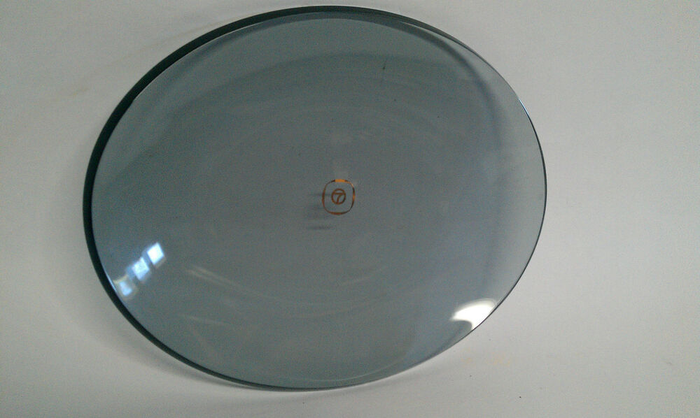Vintage KABC TV CHANNEL 7 EYEWITNESS NEWS GLASS DISH TRAY ASHTRAY