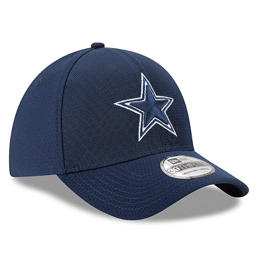 huge selection of 2caa6 09090 ... authentic details about dallas cowboys nfl new era 39thirty color rush  kickoff blue hat cap l