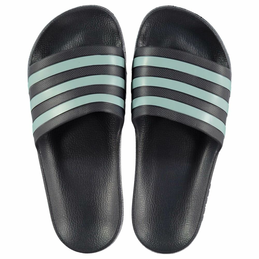 b1fd1e5aa8ad Details about NEW 2019 Adidas Mens Duramo Sliders Flip Flops TraceBlue Grey  6-12 Limited ed