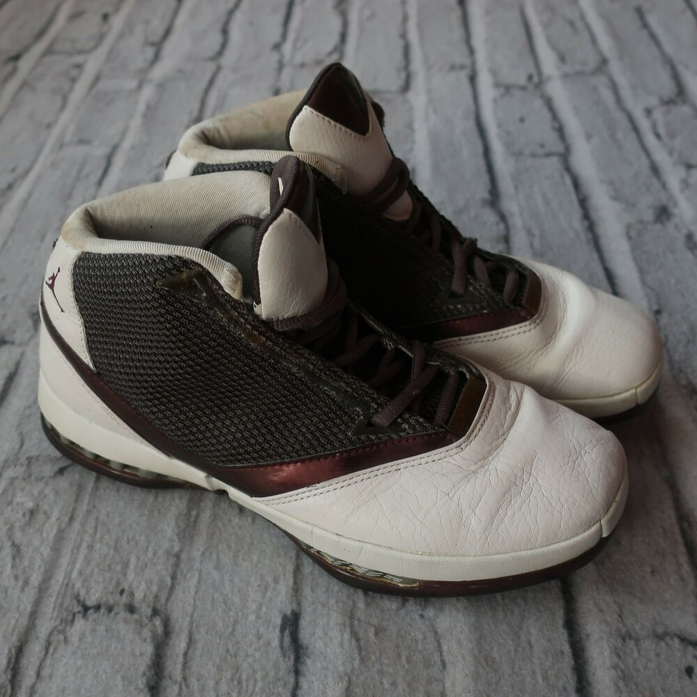 977b2e1d592db8 Details about 2001 Nike Air Jordan XVI Shoes 136080-020 Size 10.5 Vtg  Cherrywood