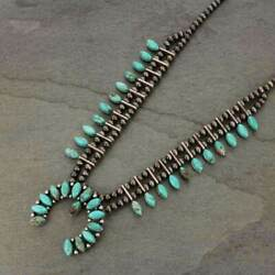 Kyпить *NWT* Natural Turquoise Squash Blossom Necklace 7309930089 на еВаy.соm