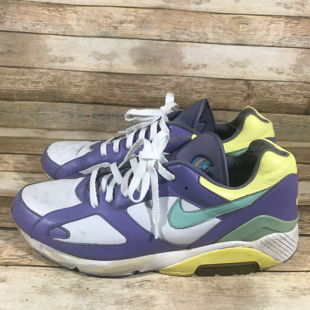 buy popular d369e 0385d Details about RARE Nike Air 180 Mens Size 13 Easter Eggs 314187-131 Air Max  95 Pastel Shoes