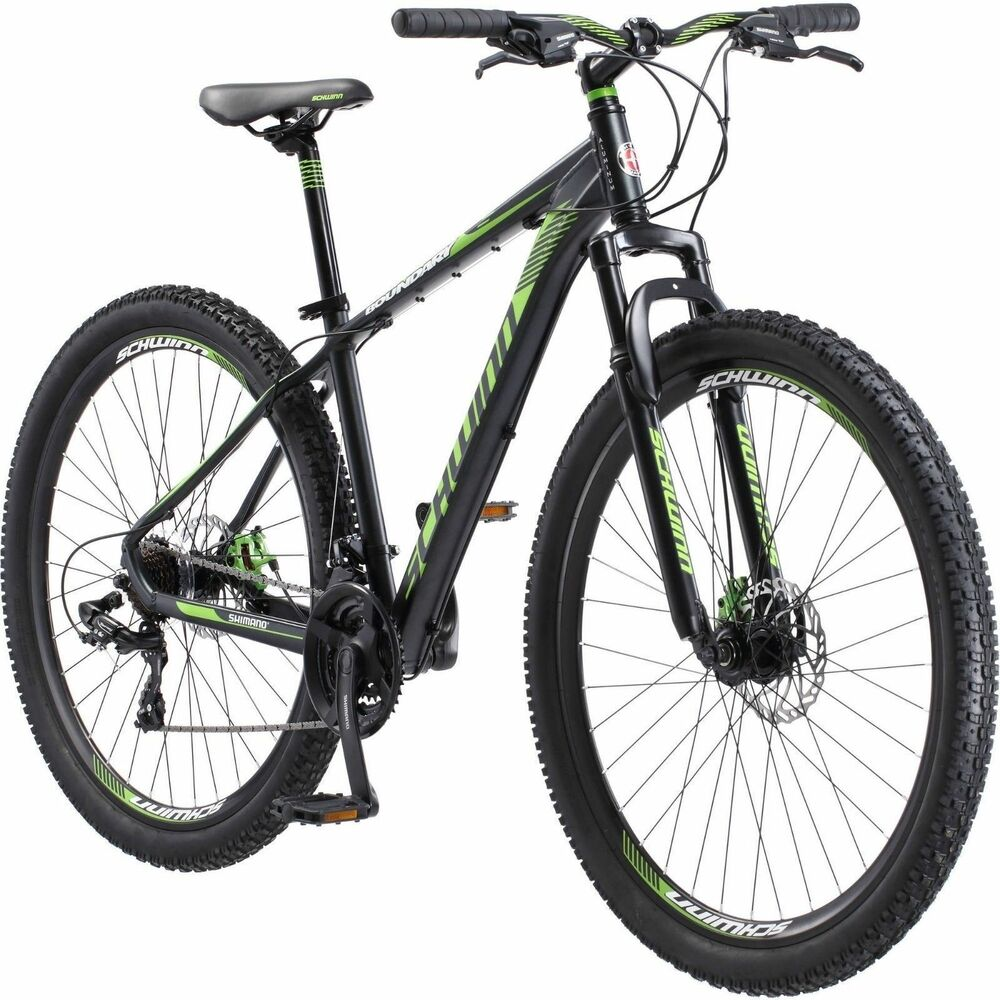 ec11183434b Details about Mountain Bike Mens Schwinn Rugged Off Road Tires 29 Inch 21  Speed Bicycle Large