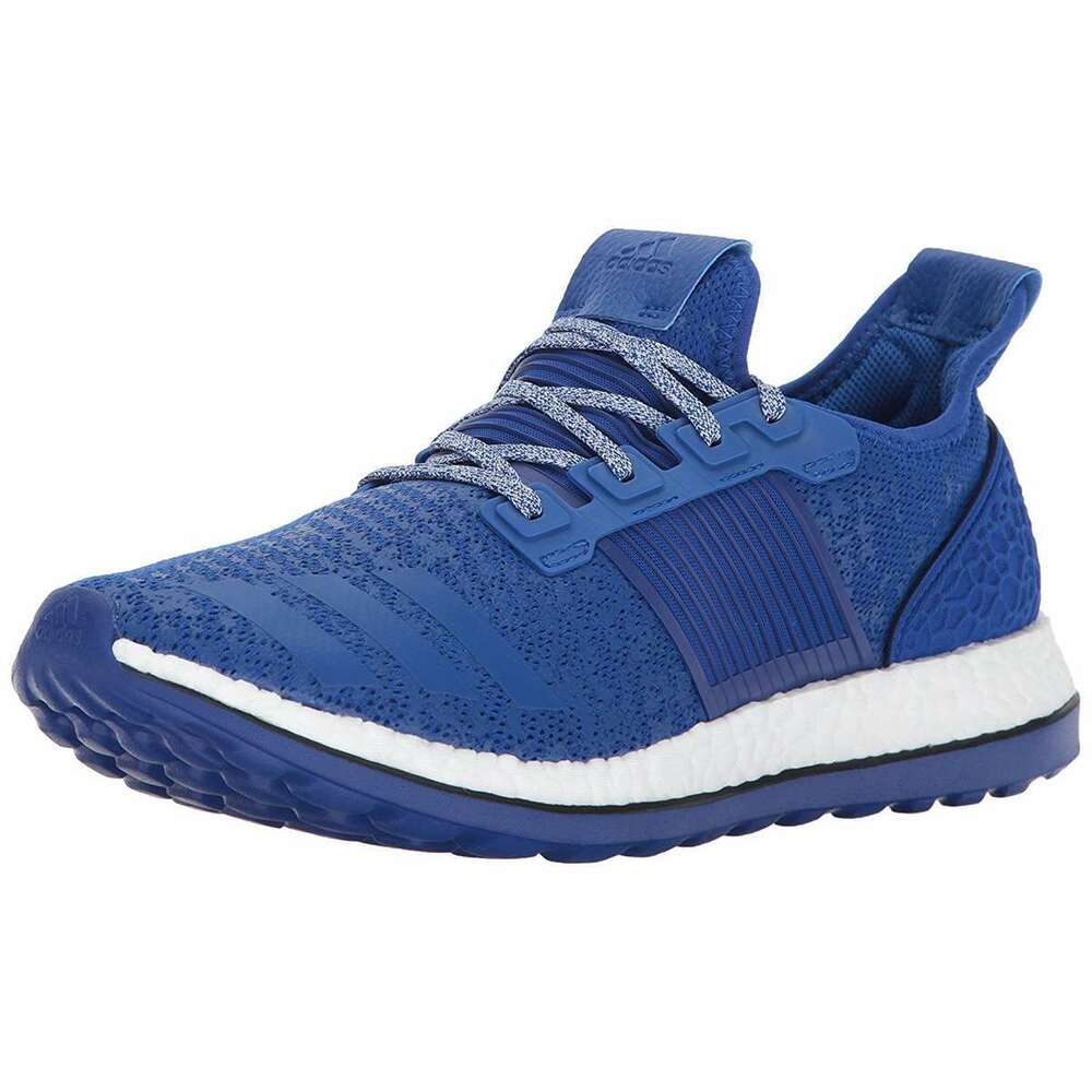 ffbb567946d24 Details about Mens ADIDAS PUREBOOST ZG Running Shoes Blue Sneakers BA8456  NEW