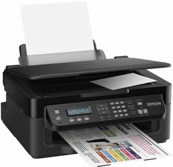 STAMPANTE EPSON WORKFORCE WF-2510WF MULTIFUNZIONE INKJET WIRELESS SCANNER FAX