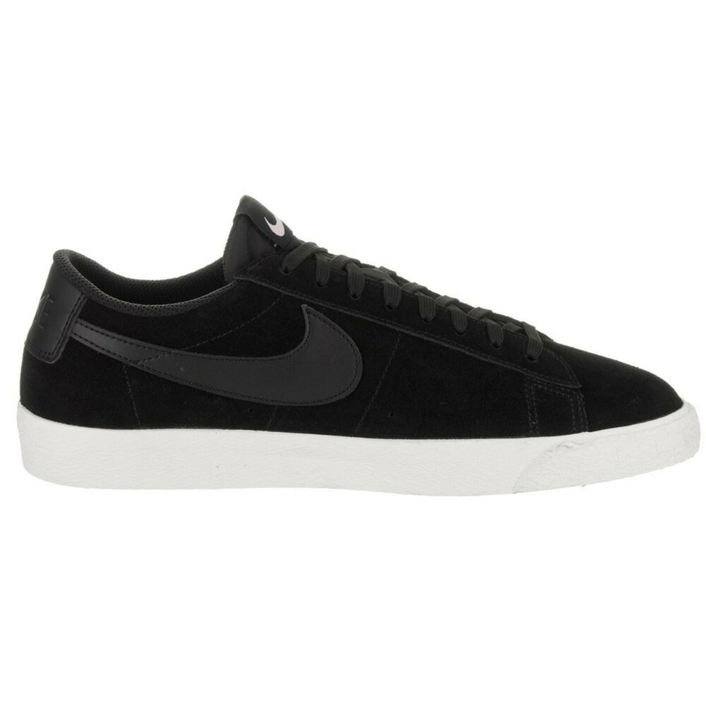 new style 4b9cb 4bba5 Details about NIKE Blazer Low Black Sail Iced Lilac 371760-024 Suede size 8  Skate Skating sb