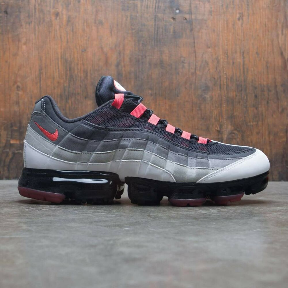 4a1421f31016c Details about Nike Air Max Vapormax 95 OG Black Grey Red Size 9.5.  AJ7292-101 1 97 98