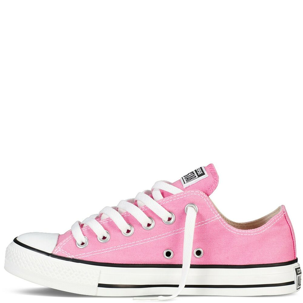 92a0a77ca8a Details about Converse Chuck Taylor Ox M9007 Pink White Mens Womens Shoes  Sneakers Sizes