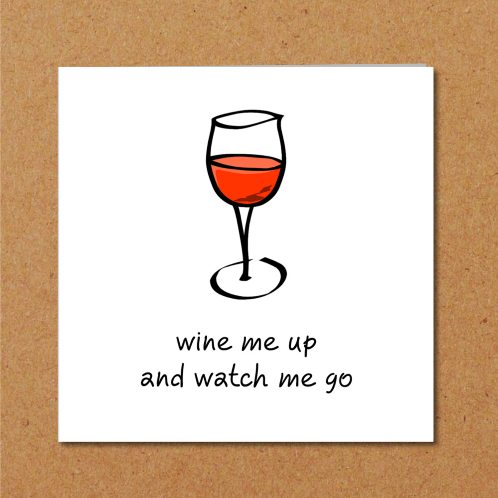 Details About Funny Birthday Card For Wine Lover