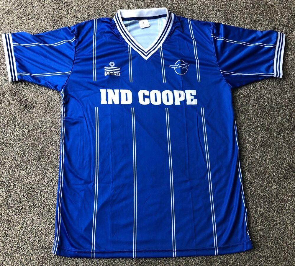 825dd0b501f Details about Retro Leicester City 1983-1985 Home IND COOPE Shirt ALL  SIZES/SLEEVES
