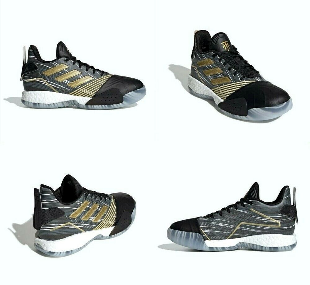 lowest price d3df8 bed28 Details about Adidas TMAC Millennium Basketball Shoes Black Gold Grey  EE3678 Size 13 US Mens