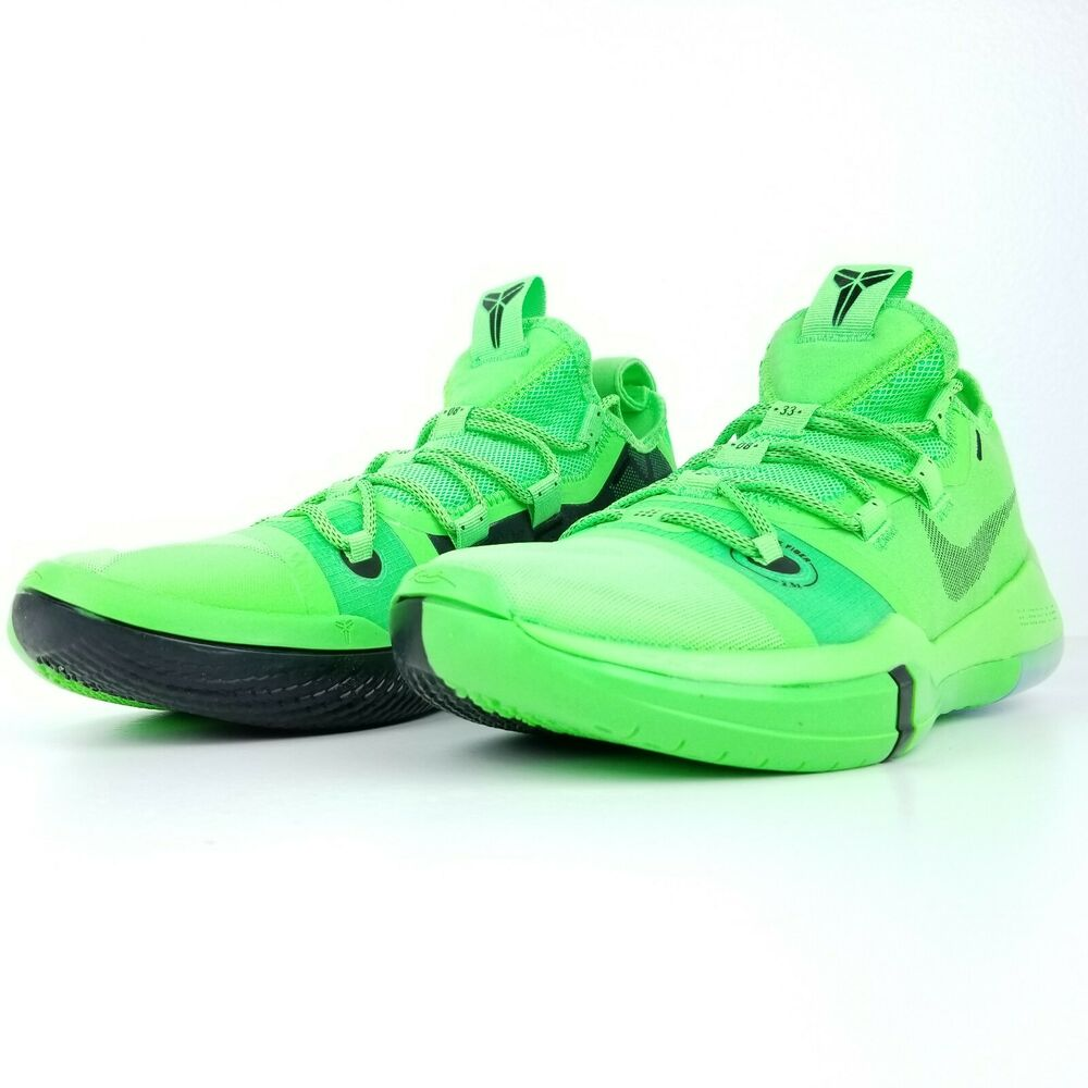 9bf9813e828d Details about Nike Kobe AD Exodus Men s Basketball Shoes Green Strike  AR5515 301 Size    NEW