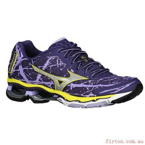 the best attitude 3087e ae04d Details about Mizuno Wave Creation 16 Women s Running Shoes (Mulberry  Purple, Yellow) Size 7.5