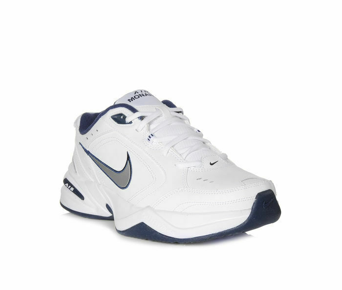 e89dea76f1 NIB - NIKE Men's 'AIR MONARCH IV' White/Blue TRAINING SNEAKERS - US 13 (4E)  640135291418 | eBay