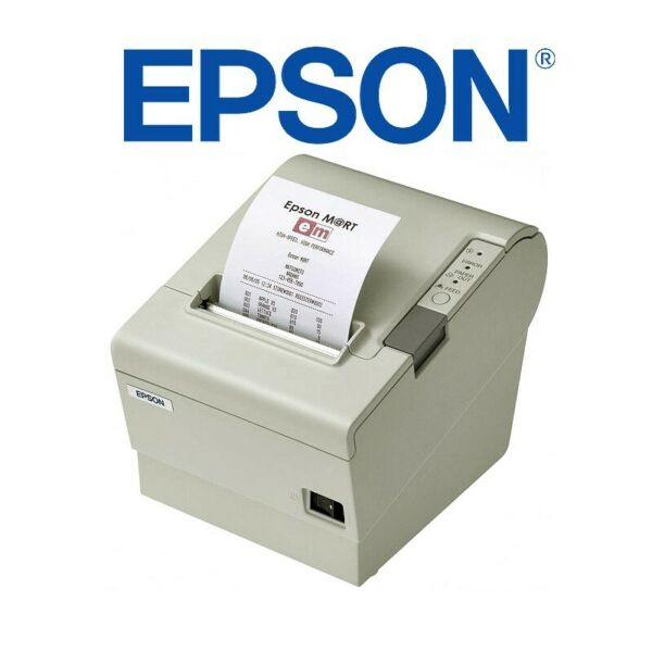 STAMPANTE TERMICA EPSON TM-T88IV 80MM USB CASSA WINDOWS SCONTRINI SCOMMESSE.