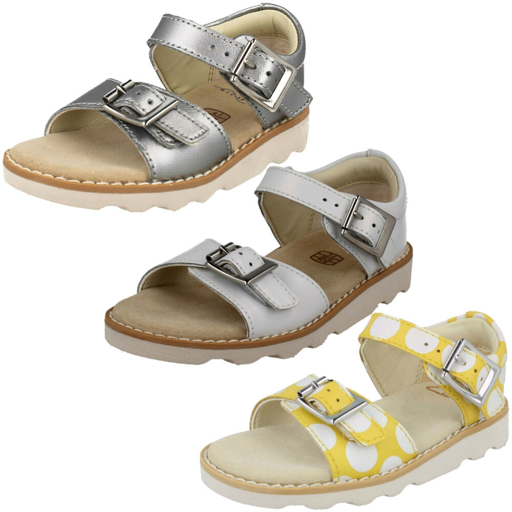 Details about GIRLS CLARKS CROWN BLOOM T TODDLER BUCKLE CASUAL SUMMER  SANDALS OPEN TOE SIZE