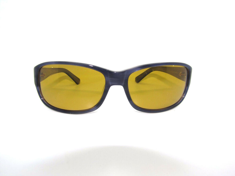 2d5c8a97f09f9 Details about NEW Orvis Sunglasses Banshee 4C24 Navy Blue Amber polarized