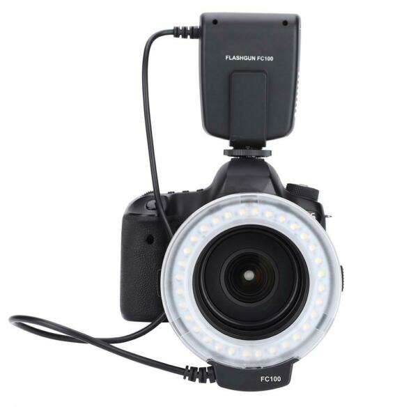 MEIKE FC-100 Luce LED Anulare 5000K Fill Light Flash per Video Camera Fotografia