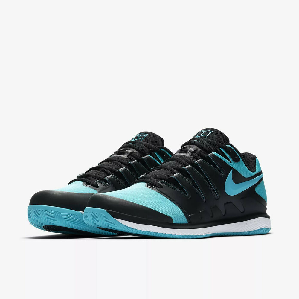 c0ad0b8ff301 Details about New Nike Air Zoom Vapor X Clay Court Tennis Shoes Size 11.5  White Blue Black