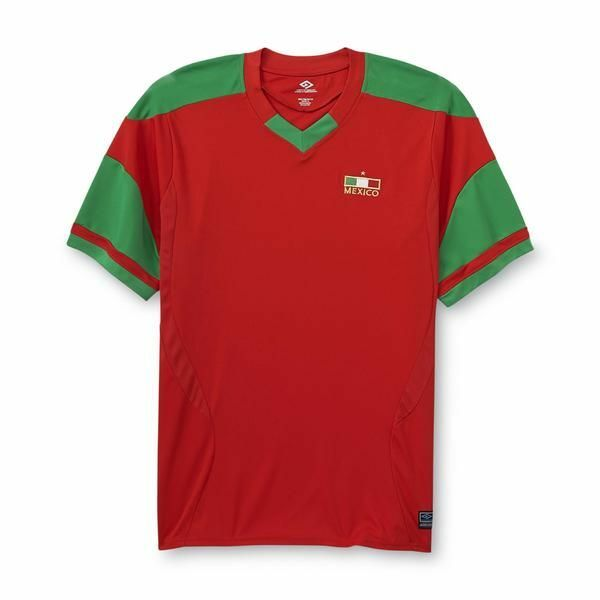 c226ae512 Details about Men's Mexico Soccer Jersey (Red) - Brand New With Tags
