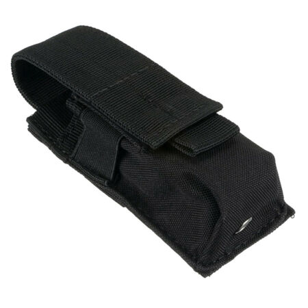 img-Tactical Military Flashlight Torch Belt Holster Pouch Outdoor Hiking Camping