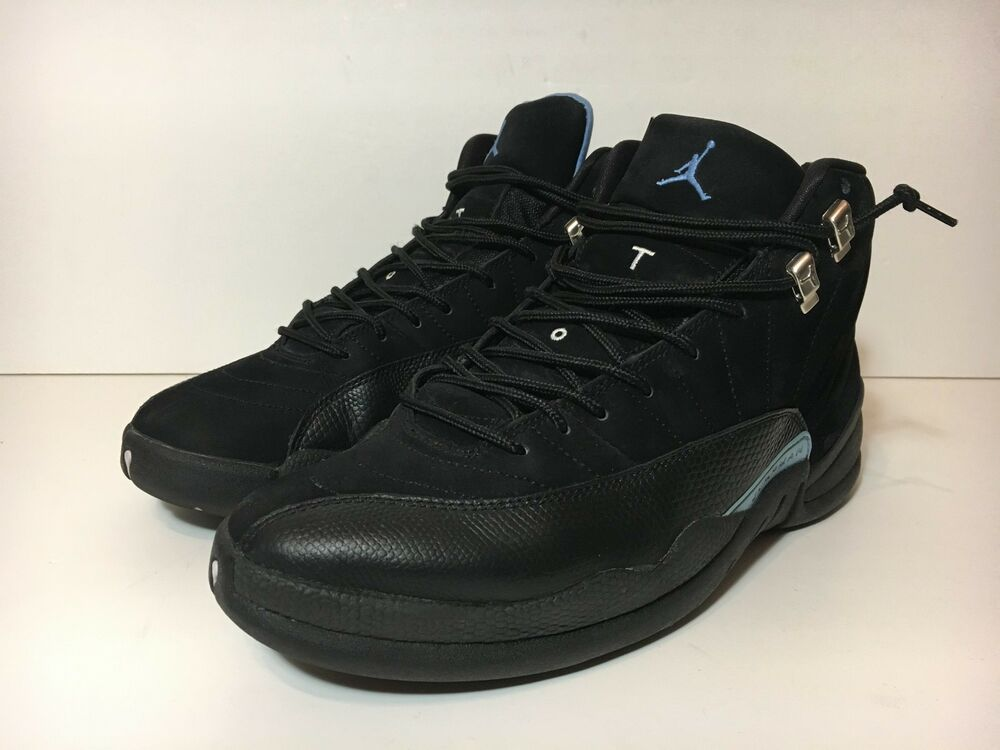 competitive price a1ef7 9cf30 Details about 2009 NIKE AIR JORDAN 12 XII NUBUCK 10 BRED OVO FRENCH WINGS  PLAYOFFS TAXI OG 9.5