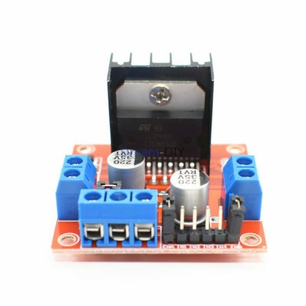 L298N Motor Drive Board Module Stepping Motor DC Motor Intelligent Vehicle Robot