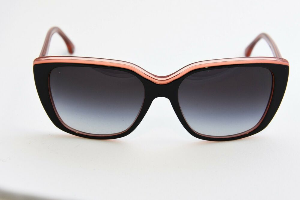 cd574e956e4f Details about EMPORIO ARMANI EA 4069 5514 8G OVERSIZED SQUARE SUNGLASSES  56-17-140 BLACK CORAL