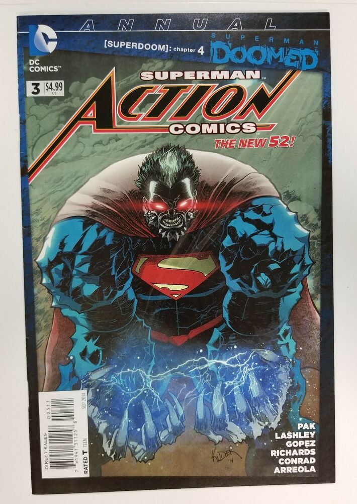 1st Print Dc Comics New 52 Bright Luster Modern Age (1992-now) Other Modern Age Comics Action Comics #5 Vf Nm