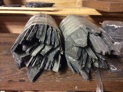 HandMade Slate Plant Labels//Markers Just Under 2Kilos Mixed Long Markers