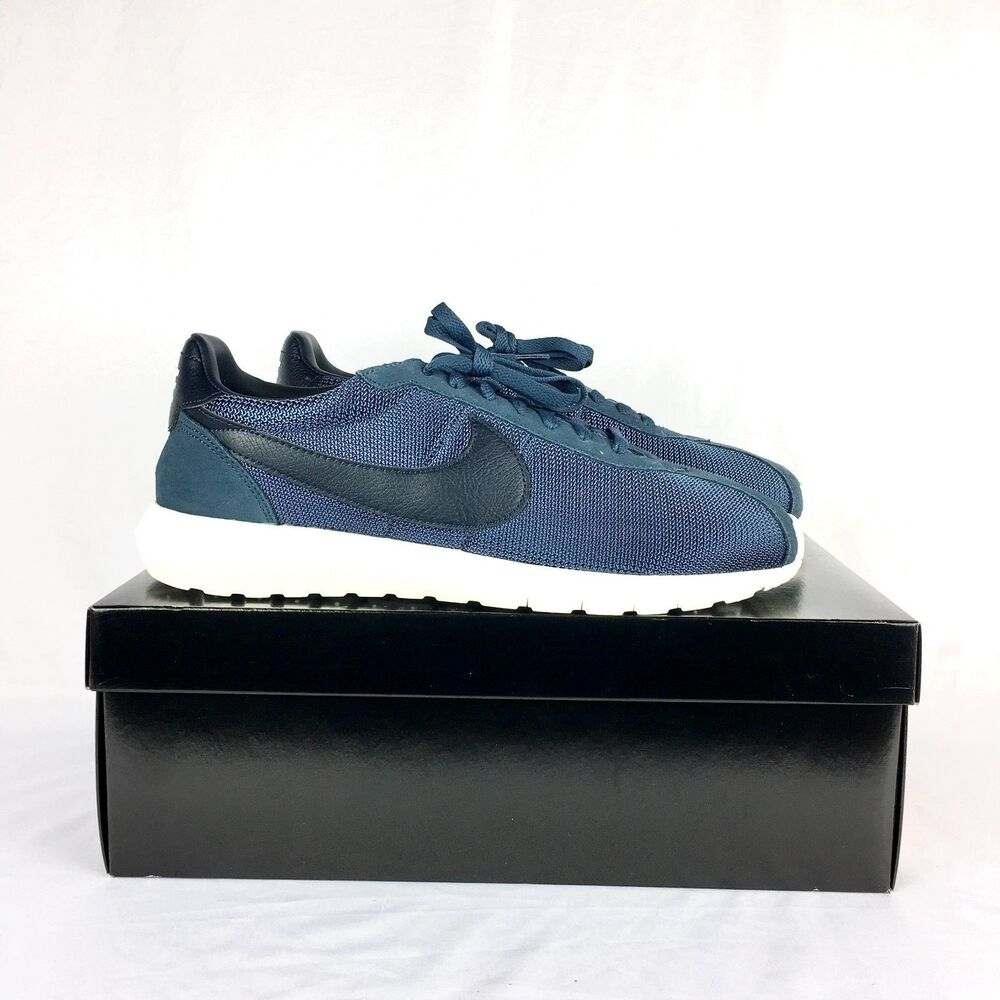 sports shoes 7dbd6 714bb Nike Roshe Blue Mesh Everyday Casual Sneaker Mens 12 Black Sail Obsidian LD- 1000 883412233453   eBay
