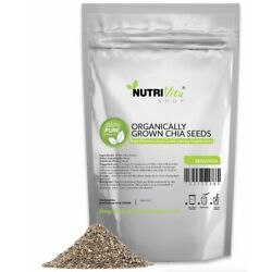 Kyпить 100% PURE BLACK CHIA SEEDS VEGAN GLUTAN-FREE nonGMO GROWN ORGANIC USA KOSHER  на еВаy.соm
